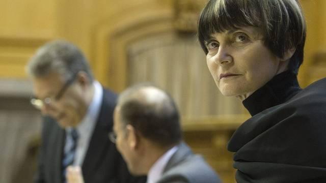 Bundespräsidentin Calmy-Rey möchte Schweizer Strafuntersuchung gegen Gaddafi-Regime