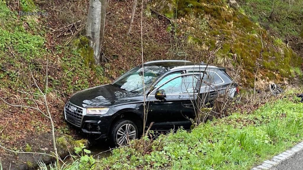 Pech für den Räuber: Er stiehlt ein Auto und verursacht wenig später einen Totalschaden