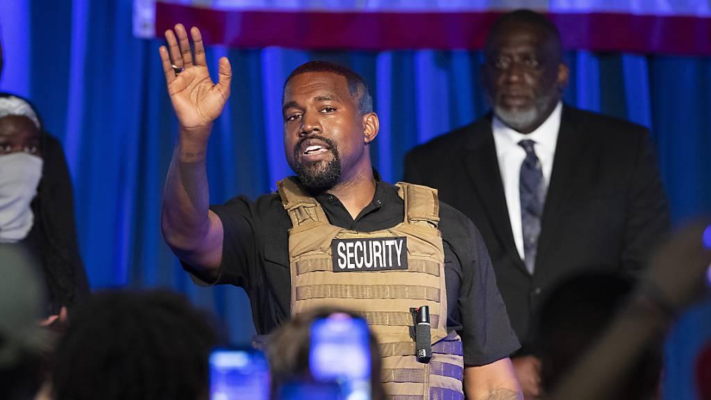 Kanye West bricht bei Auftritt zu US-Wahl in Tränen aus