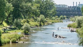 Das neue «Herzstück» der Basler Trinkwasserversorgung in der Langen Erle kostete 24,5 Millionen Franken. (Archivbild)