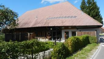 Das NäijereHuus. Eine der besonders schönen Bauten im Dorfteil Hersiwil.