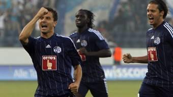 Dimitar Rangelov traf zum frühen 1:0 für Luzern