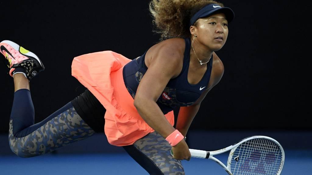 Dynamisch und nicht zu stoppen: Naomi Osaka gewann zum zweiten Mal das Australian Open