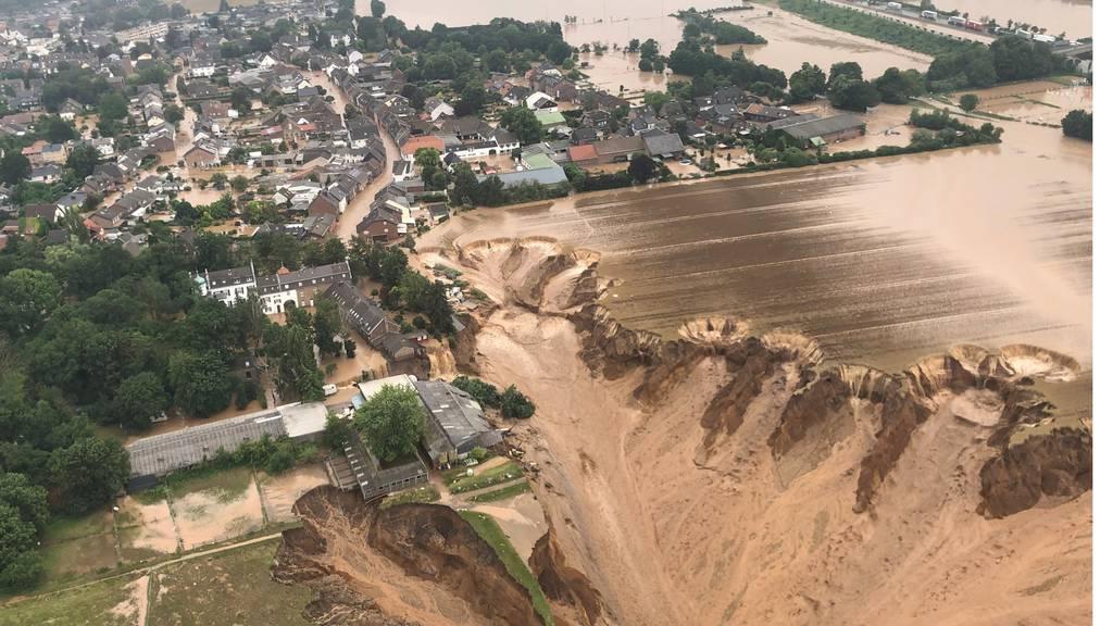 Unwetter-Katastrophe in Deutschland: Mindestens 93 Tote, tausende Vermisste