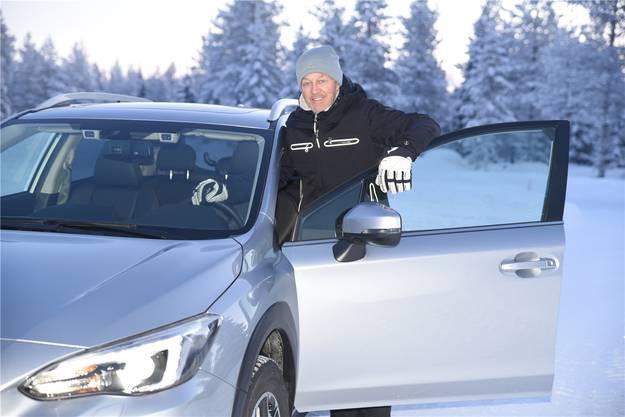 Subaru-Botschafter Bernhard Russi.