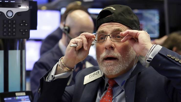 Weltweit wurden die Börsenhändler von den Kurseinbrüchen an überrascht: Im Bild New York Stock Exchange.