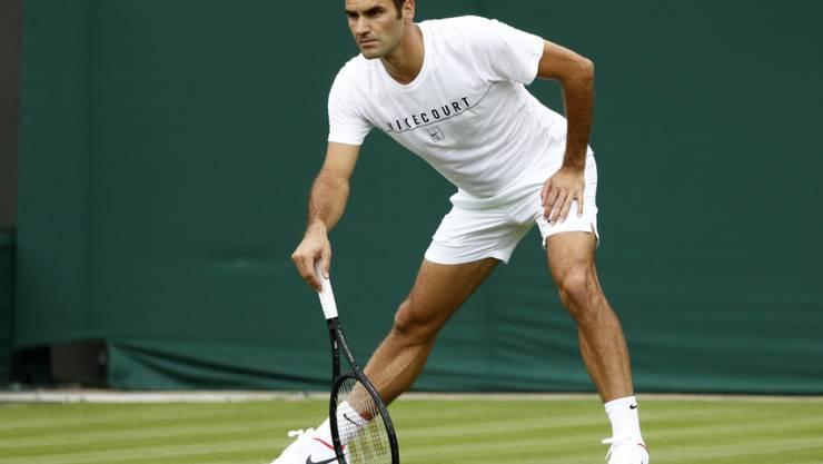Eine wird sich am Tennisturnier in Wimbledon ganz besonders über solche Bilder von Roger Federer freuen: Die Mutter von Herzogin Kate.