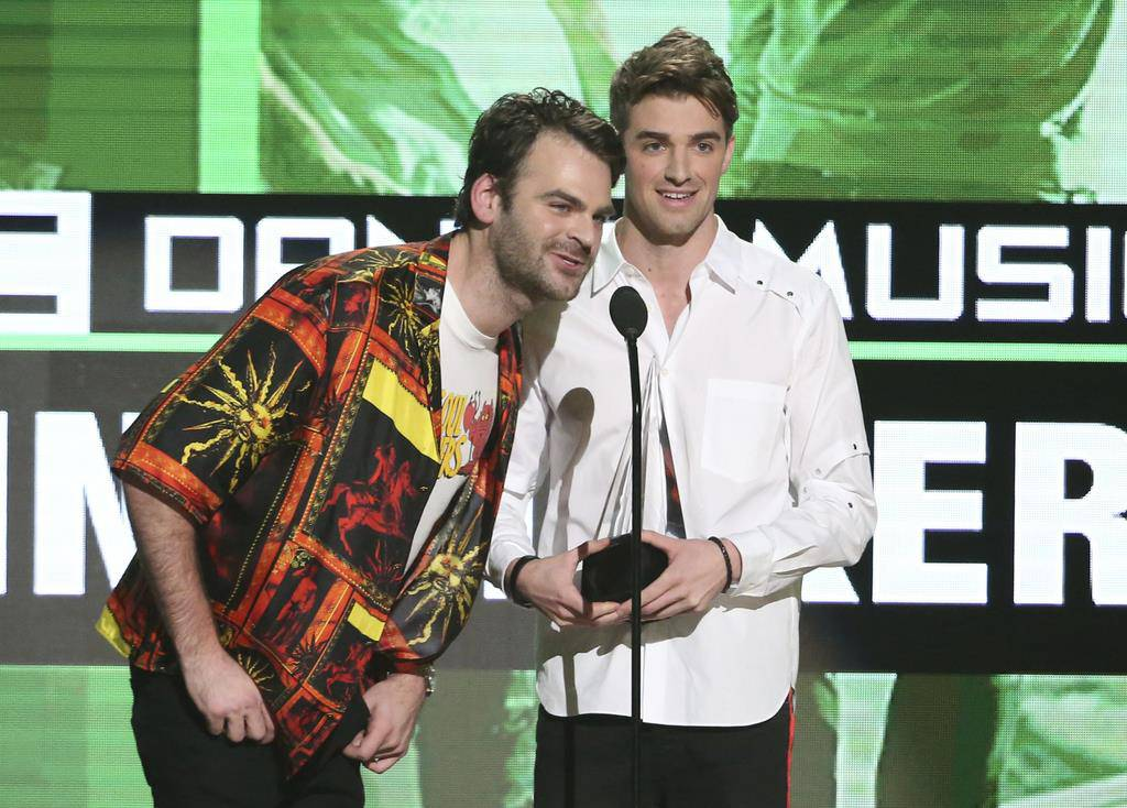 Kategorie Best Hit International: The Chainsmokers ft. Coldplay (Something Just Like This) (© Keystone/Matt Sayles)
