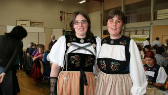 Flavia Gebhard (links) und Simone Gehrig möchten mehr jüngere Landfrauen im Verband.  som