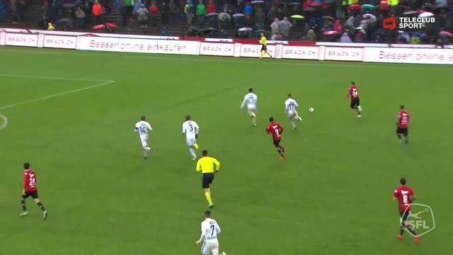 Challenge League, 2018/19, 16. Runde, FC Aarau– FC Lausanne, 1:0 Varol Tasar