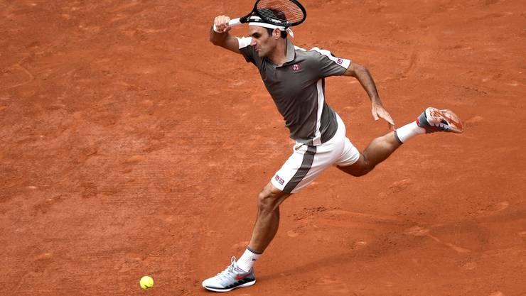 Roger hier, Roger da, Roger überall: Roger Federer hat in Paris kaum eine ruhige Minute.