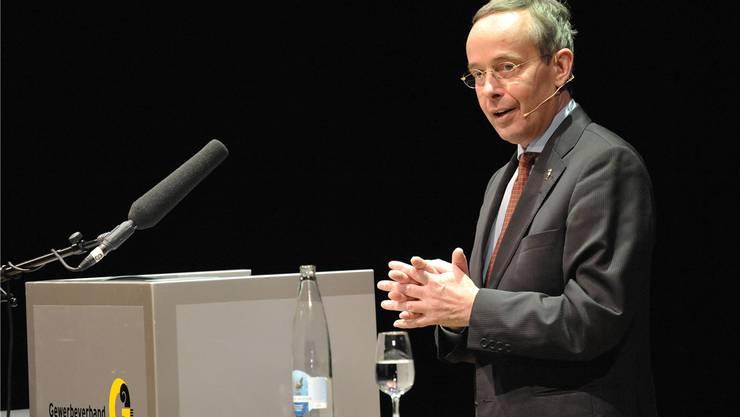 Basler Gewerbedirektor und FDP-Nationalrat: Peter Malama.
