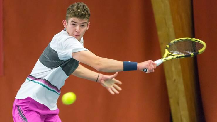 Der 16-jährige Fricktaler Jérôme Kym hat in Luxemburg bei einem internationalen Juniorenturnier das Endspiel erreicht.