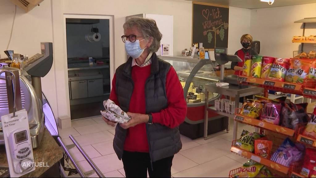 Dorfladen bietet Einkaufen ohne Angst vor Ansteckung an