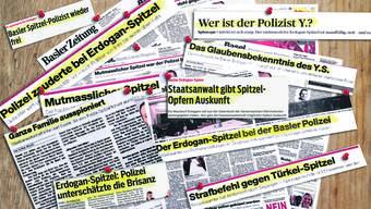 Es war ein Artikel der «Basler Zeitung», der die vorhandenen Ängste vor Bespitzelung                   auf eine reale Person projizierte. Dem Sog der Geschichte erlagen alle: Journalisten, Politiker und Behörden.