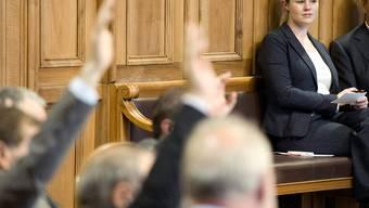 Vorerst nicht mehr im Parlament: Natalie Rickli nimmt eine Auszeit.Key