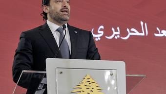 Der libanesische Ex-Premierminister Hariri will bald in sein Heimatland zurückkehren. (Archiv)