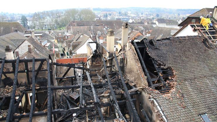 Der Solothurner Altstadtbrand – am Tag danach.