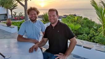 Samuel Vörös (l.) und Dominik Grossenbacher führen 26 Betriebe in der Schweiz und neuerdings ein Resort auf den Kapverden.