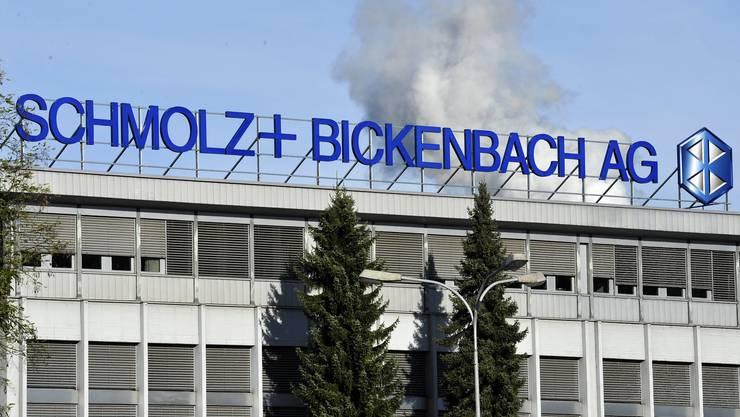 Mit einer Namensänderung und einer Kapitalreduktion versucht das Unternehmen Schmolz + Bickenbach einen Neustart.