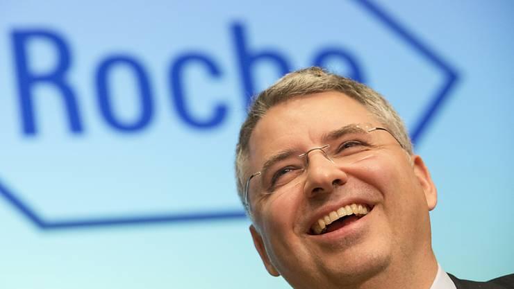 Roche-Chef Severin Schwan ist zuversichtlich - trotz auslaufender Patente. (Archivbild)