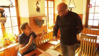 Besuch von Restauranttester Daniel Bumann im Restaurant Sternen in Egerkingen.