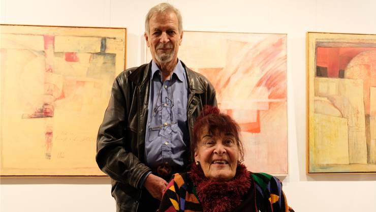 «Für alles, was sie für die Kinder, die Kunst und zum Wohle der Menschheit getan haben»: Gaby Hübscher, hier mit ihrem Mann Roly, freute sich sehr über die Auszeichnung.