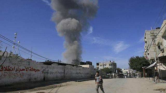 Explosion in Rafah (Archiv)