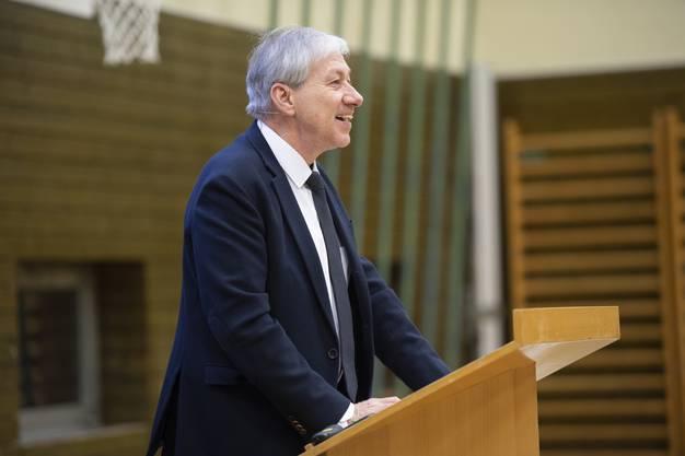 Der externe Projektleiter Jean-Claude Kleiner.