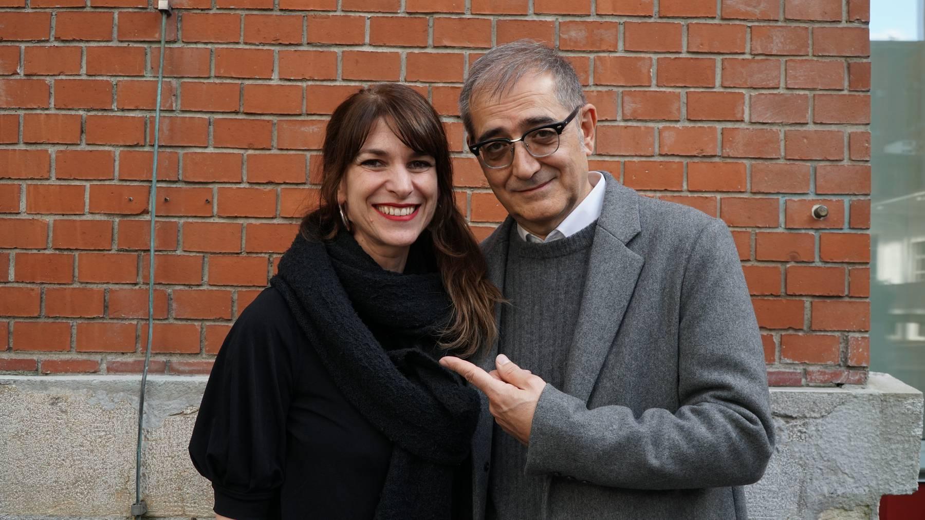 Sharon Zucker mit Samir