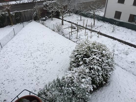 ....au im Reusstal häts Schnee.......