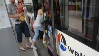 Für die Busachse Ost in Baden gibt es 10 Millionen Franken.ZVG
