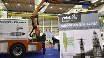 """An der Erfindermesse ausgezeichnet: Der """"Roboscan 2M Aeria"""""""