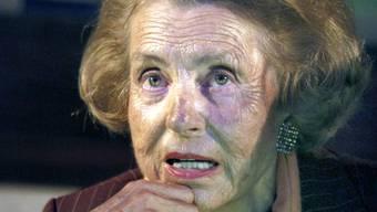 Könnte bald nicht mehr selbst über ihr Vermögen verfügen: Liliane Bettencourt (Archiv)