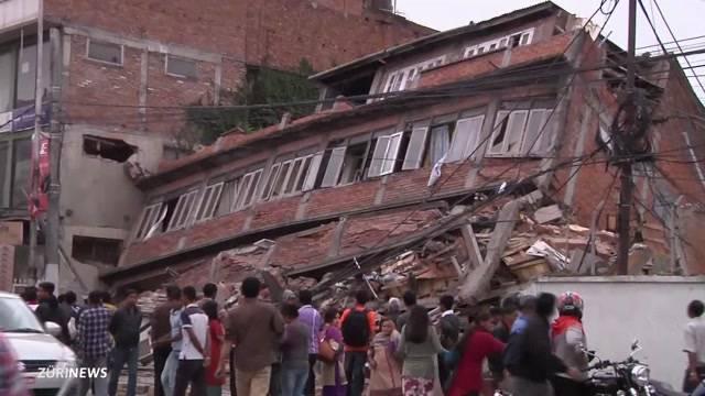 Erdbeben in Nepal kostet tausende Menschenleben
