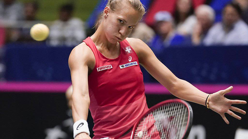 Viktorija Golubic musste beim Turnier in Rabat schon früh die Koffer packen