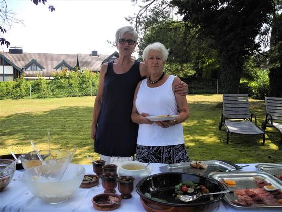 «Seit 1978 sind wir Freundinnen und gehen miteinander durch dick und dünn», erzählt Rita Zberg.
