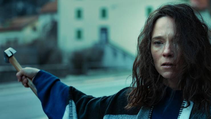 Sabine Timoteo als Anna in Cronofobia