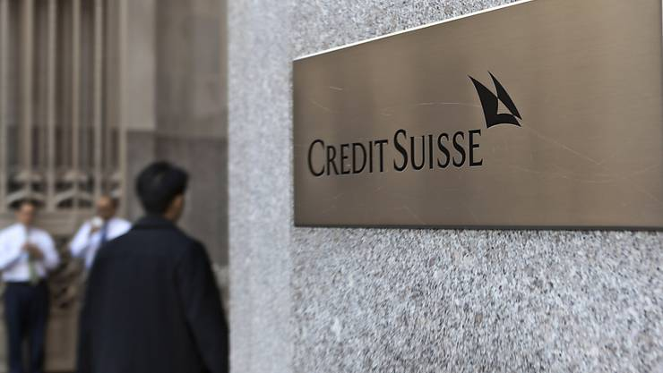 Eingang zum Credit-Suisse-Gebäude in New York. (Archivbild)