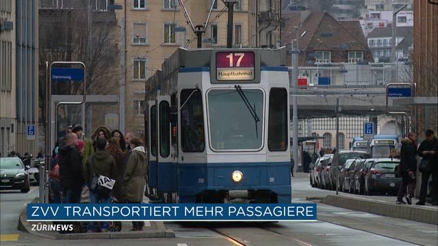ZVV transportierte 651 Millionen Passagiere im letzten Jahr