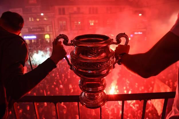 Der FCB erreichte mit dem Sieg im Cupfinal gegen Sion historisches. Noch nie haben die Sittener die Chance vergeben, den Cup zu holen, wenn sie im Final standen.