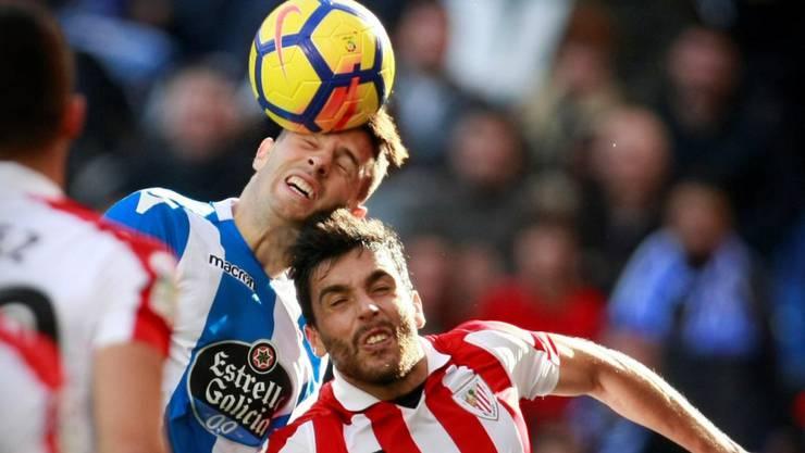 Fabian Schär muss mit La Coruña derzeit viel einstecken