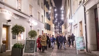 Weihnachtsbeleuchtung Solothurn 2015