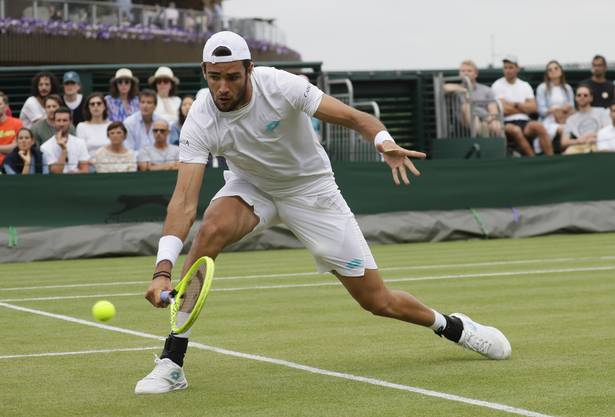 Der Italiener Matteo Berrettini gewann in diesem Jahr schon zwei Titel, darunter im Juni das Wimbledon-Vorbereitungsturnier in Stuttgart.