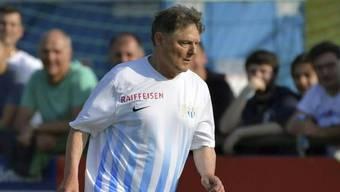 Präsidiale Verstärkung: Ancillo Canepa geht im Test gegen seinen früheren Klub Rüti auf Torejagd. (Bild fcz.ch)