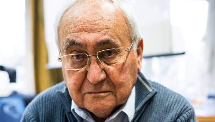 Der ungarische Jude, der 1956 in die Schweiz kam und heute in Esslingen ZH wohnt, verbringt den heutigen Internationalen Tag des Gedenkens an die Opfer des Holocaust in Auschwitz, wo er bis zur Befreiung am 27. Januar 1945 interniert war.