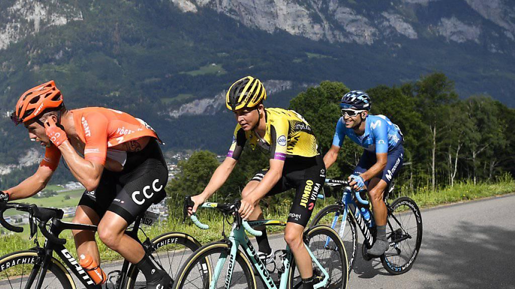 Egan Bernal neuer Leader der Tour de Suisse