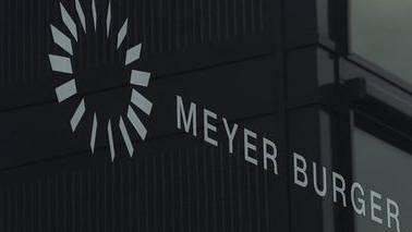 Produktionsgebäude von Meyer Burger in Thun