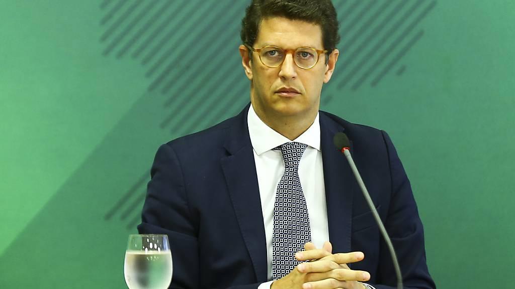 Brasiliens umstrittener Umweltminister Salles räumt seinen Posten