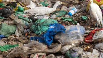 Vermüllte Strand im Senegal. Dass sich Plastik kaum zersetzt, war bekannt. Nun haben deutsche Forscher erstmals datierbare Beweisstücke gefunden. (Archivbild)